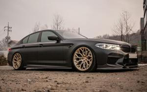 BMW M5 by Stage on Vossen Wheels (S17-01) 2020 года