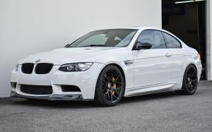 BMW M3 Coupe by EAS on HRE Wheels (FF01) 2020 года