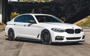 BMW M5 on ADV.1 Wheels (ADV5.0 FLOWSPEC) (Alpine White) 2020 года