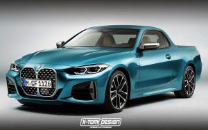 BMW 4-Series Pickup by X-Tomi Design 2020 года