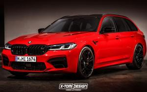 BMW M5 Competition Touring by X-Tomi Design '2020