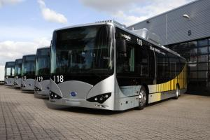 BYD K9 Schiphol Airport Bus 2015 года