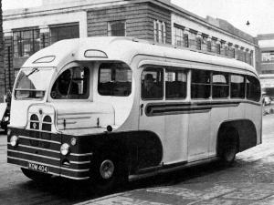 Bedford OB Willenhall Coachcraft 1950 года