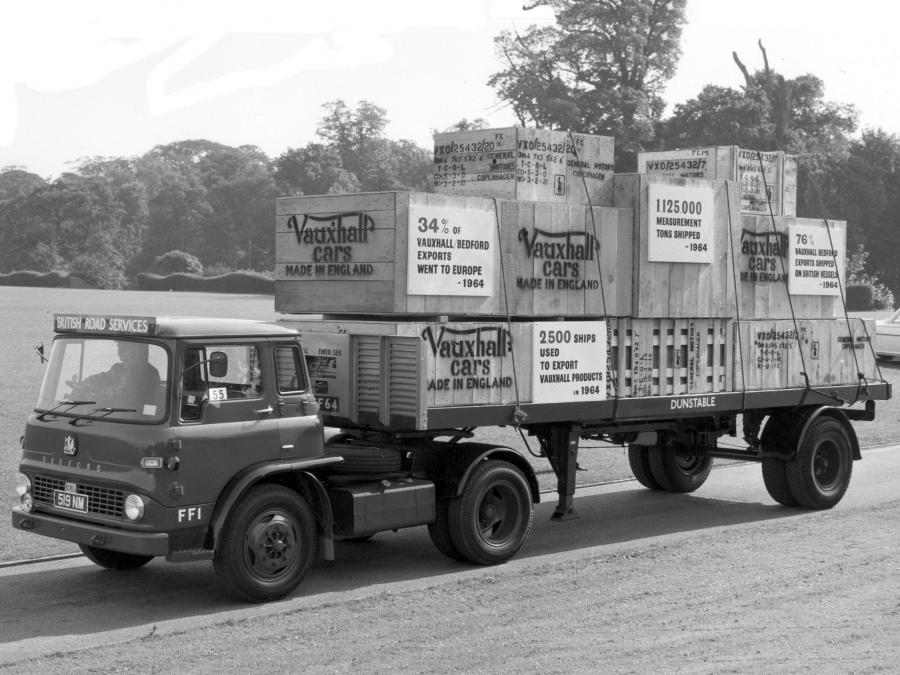 1961 Bedford TK FA/GA Articulated Tractor Unit