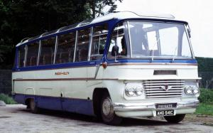 Bedford SB13 Duple Firefly 1965 года