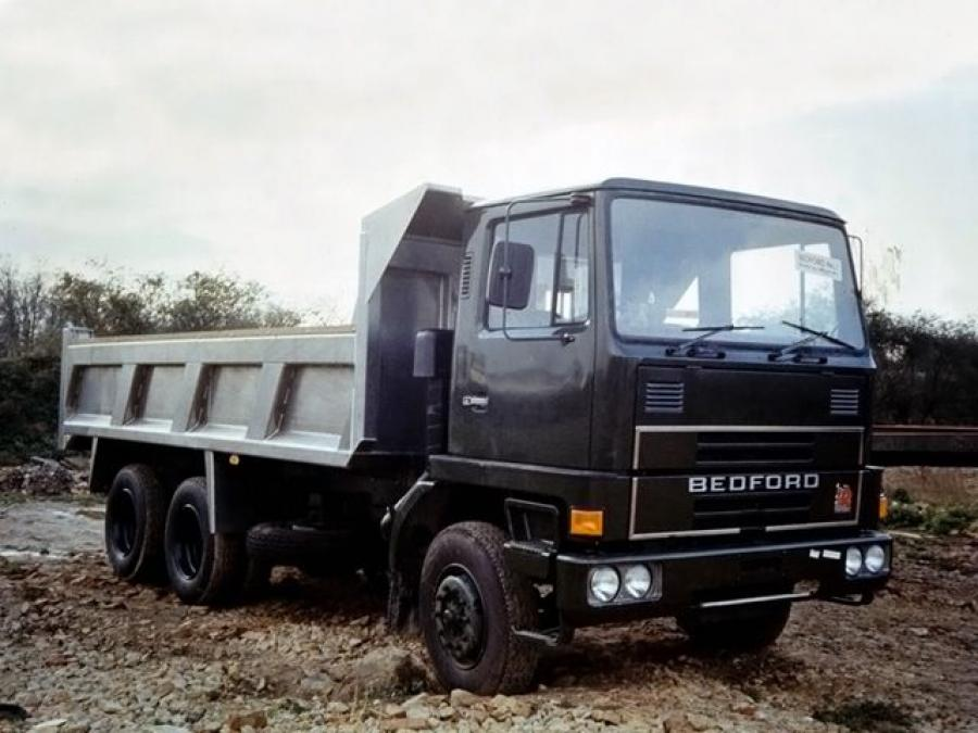 1974 Bedford TM 6x4 Tipper