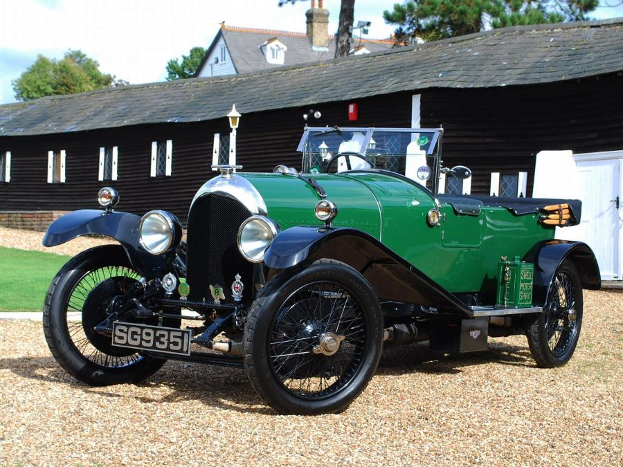 Bentley 3-Litre Blue Label Tourer by Gurney Nutting '1923