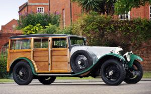 Bentley 3-Litre Shooting Brake by James Young 1925 года
