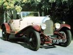 Bentley 3-Litre Speed Model 2-Seater by Vanden Plas 1927 года