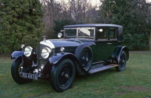 1928 Bentley 6½-Litre Saloon by Barker