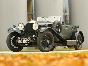 1929 Bentley 4½-Litre Dual Cowl Sports Tourer by Vanden Plas