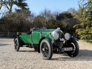 1929 Bentley 4½-Litre Le Mans Tourer by Vanden Plas