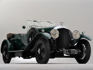 Bentley 4½-Litre Tourer by Vanden Plas 1929 года