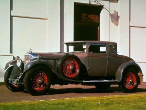 1930 Bentley 6½-Litre Fixed Head Coupe by Mulliner