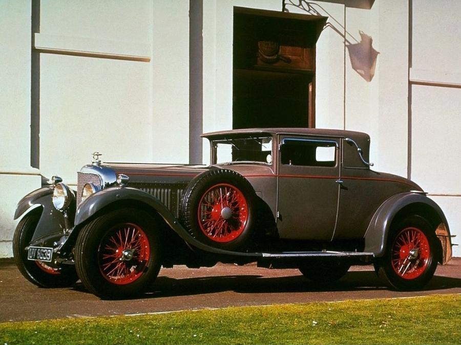 Bentley 6½-Litre Fixed Head Coupe by Mulliner '1930