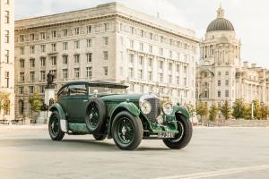 1930 Bentley Speed 6 Coupe by Gurney Nutting Blue Train