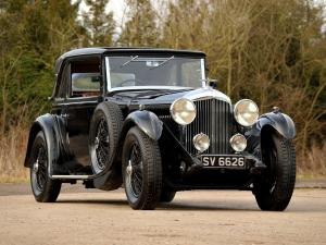 1931 Bentley 4-Litre Coupe by Mulliner
