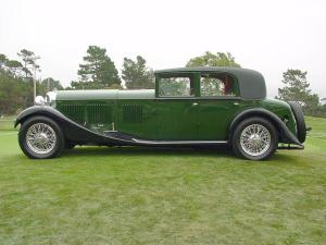 1931 Bentley 8-Litre Sports Sedan by Mulliner