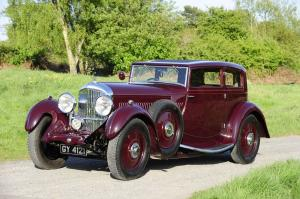 1931 Bentley 8-Litre Sportsman's Coupe by Gurney Nutting