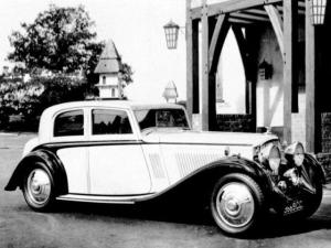 1934 Bentley 3½-Litre Silent Travel Saloon by Vanden Plas