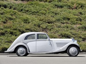 Bentley 3½-Litre Aerodynamic Saloon by Rippon Bros. 1935 года