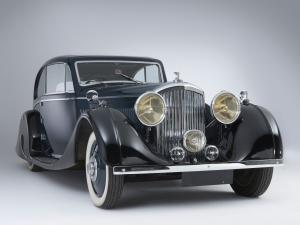 Bentley 3½-Litre Coupe 1935 года