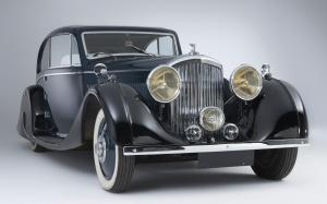 1935 Bentley 3½-Litre Coupe 1935 года