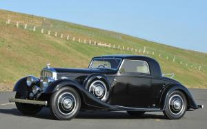 Bentley 3½-Litre Fixed Head Coupe by Kellner 1935 года