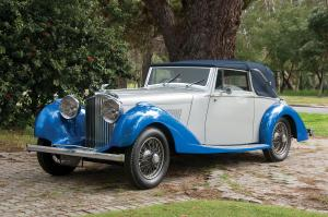 1936 Bentley 4¼-Litre Derby Convertible
