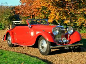 1936 Bentley 4¼-Litre Drophead Coupe by Veth & Zoon
