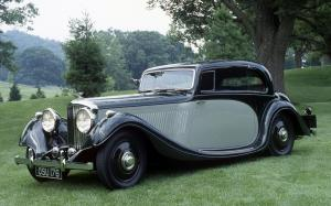 1936 Bentley 4¼-Litre Pillarless Coupe by Gurney Nutting
