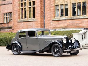 1936 Bentley 4¼-Litre Sports Saloon by Park Ward