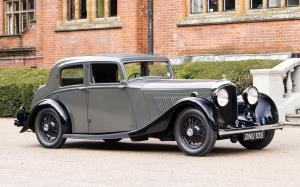 Bentley 4¼-Litre Sports Saloon by Park Ward 1936 года