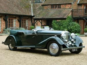 1936 Bentley 4¼-Litre Tourer by Vanden Plas
