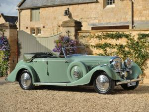 1937 Bentley 4¼-Litre All-Weather Tourer by Thrupp & Maberly