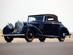 Bentley 4¼-Litre Concealed Head Coupe by Mulliner 1937 года