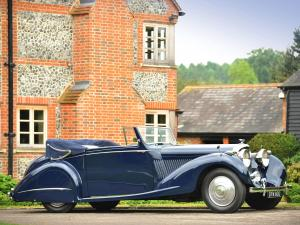 1937 Bentley 4¼-Litre Drop Head Coupe by Gurney Nutting