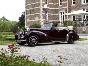 Bentley 4¼-Litre Drophead Coupe by James Young 1937 года