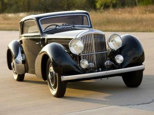 Bentley 4¼-Litre Fixed Head Coupe by Vesters Neirinck 1937 года