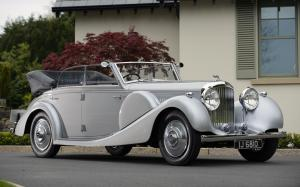 Bentley 4¼-Litre Cabriolet by Worblaufen 1938 года