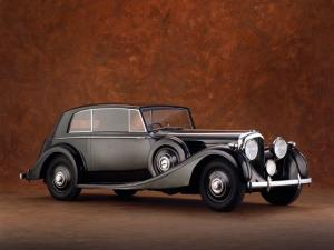 1938 Bentley 4¼-Litre 2-door Saloon by James Young