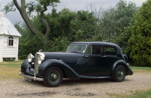 Bentley Mark V Saloon by Park Ward 1939 года