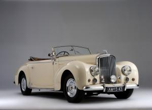 Bentley Mark VI Drop Head Coupe by Graber 1948 года