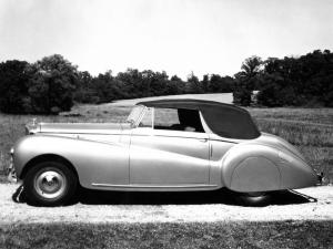 1949 Bentley Mark VI Drop Head Coupe by Abbott