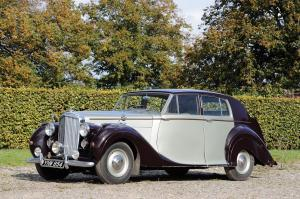 Bentley Mark VI Saloon by James Young 1949 года
