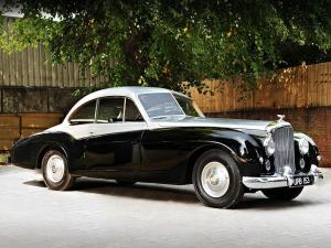 Bentley R-Type 4 6-Litre Coupe by Abbott 1952 года
