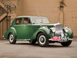 Bentley R-Type Saloon Rally Monte Carlo 1952 года