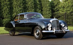Bentley R-Type Continental Fastback Sports Saloon by Mulliner 1953 года
