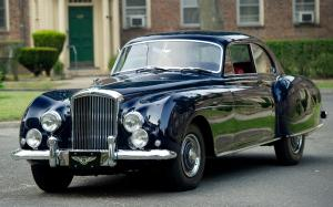 Bentley R-Type Continental Sports Saloon by Mulliner MT 1953 года
