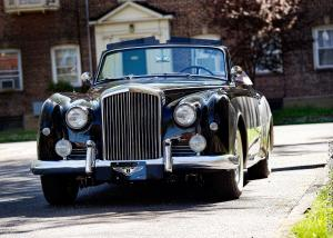 Bentley S1 Continental Drop Head Coupe by Park Ward 1958 года
